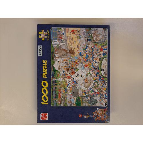 Jan van Haasteren puzzel (1.000 stukjes)