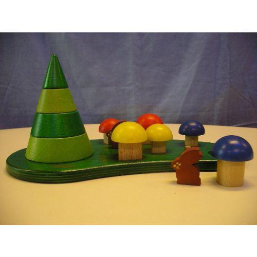 Pini vormen en grootte