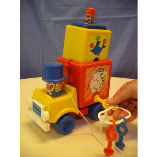Circusvrachtwagen