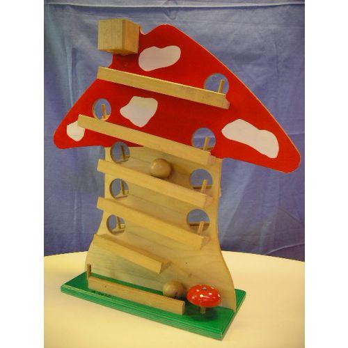 Ballenbaan paddenstoel