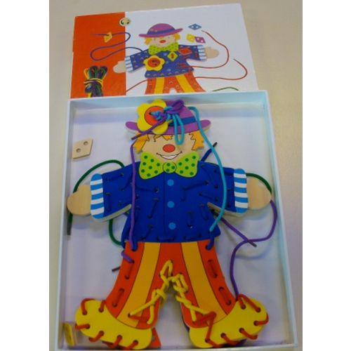 "Rijgpop ""clown"""