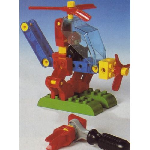 Duplo toolo helicopter