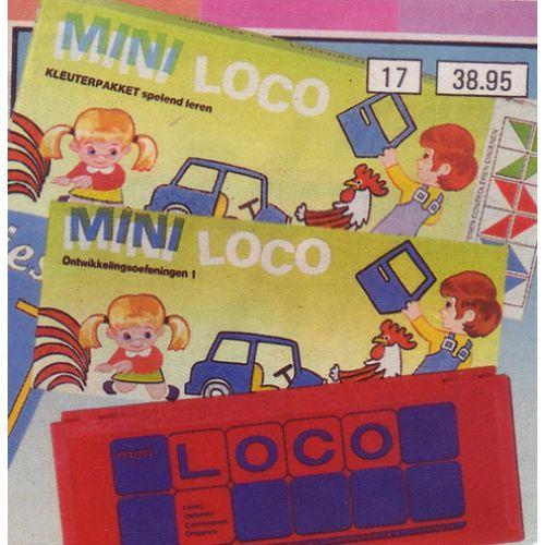 Mini loco boekje
