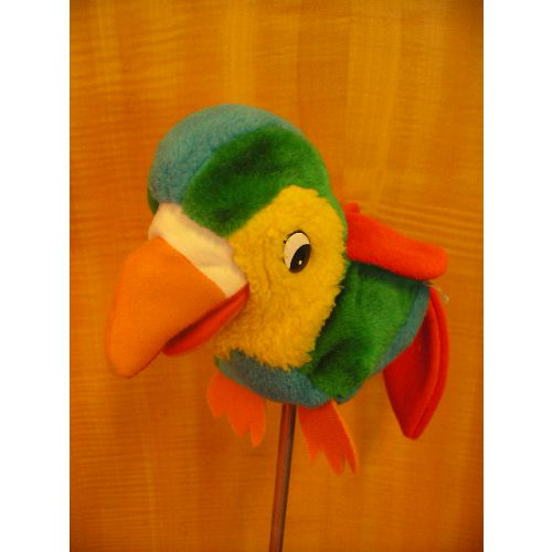 Handpop papagaai